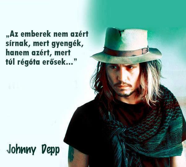 depp1 - Johnny Depp: Lépj tovább és ne törődj azzal, amit mások gondolnak!