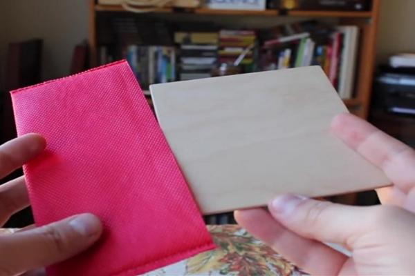 négyzetet - A hét feladványa: Te be tudnád illeszteni a négyzetet a tasakba?