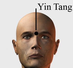 yin tang 300x281 - A 3.szem csakra fő energiapontjának kezelése