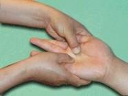 kézmasszázs - Az ujjakupresszúra