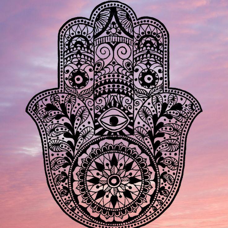 hamza2 - Elhoztuk a védelmező Isteni szimbólumot, engedd hogy megfogja a kezed!
