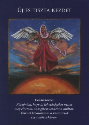 kezdet - A pénteki nap Angyal üzenete - Új és tiszta kezdet