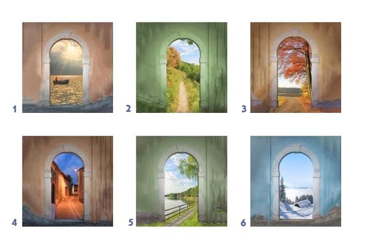 ajtót - Válassz egy ajtót, és nézd meg melyik Coelho idézet illik hozzád!