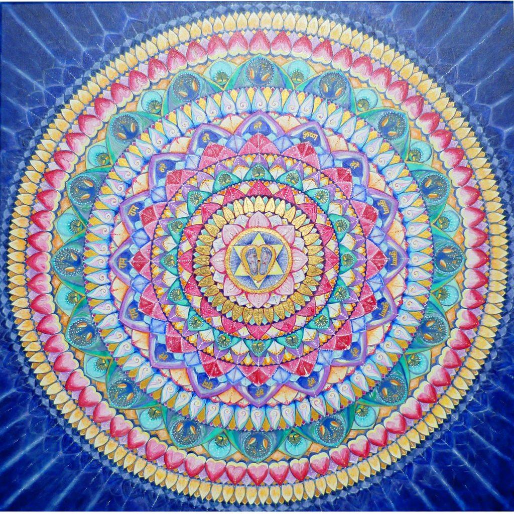 boldogság 2 1024x1024 - Íme a boldogság varázserejű Mandalája - fogadd szeretettel és add tovább!