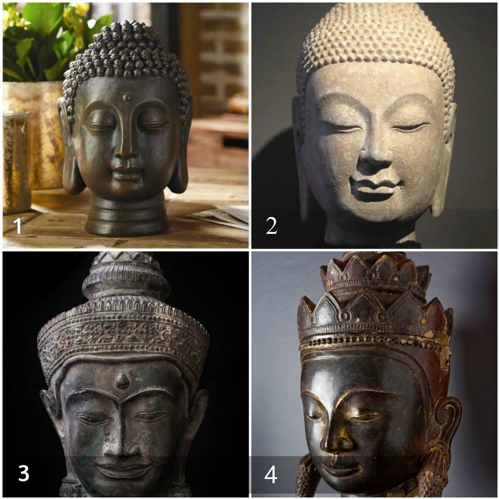 buddhafejkész 1024x1024 - Válassz egy Buddha fejet, és nézd meg mit árul el rólad! Brutálisan őszinte teszt!