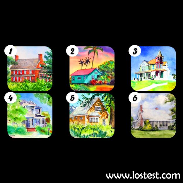 házak - Válassz egy mesebeli házat, de ne azt, amiben élni szeretnél, hanem azt, amelyik a legjobban tetszik.