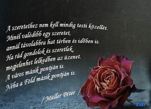 lélekemelő - 5 lélekemelő idézet Müller Pétertől