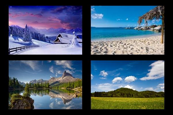 tájat - Válassz egy tájat és feltárja milyen a lelked!