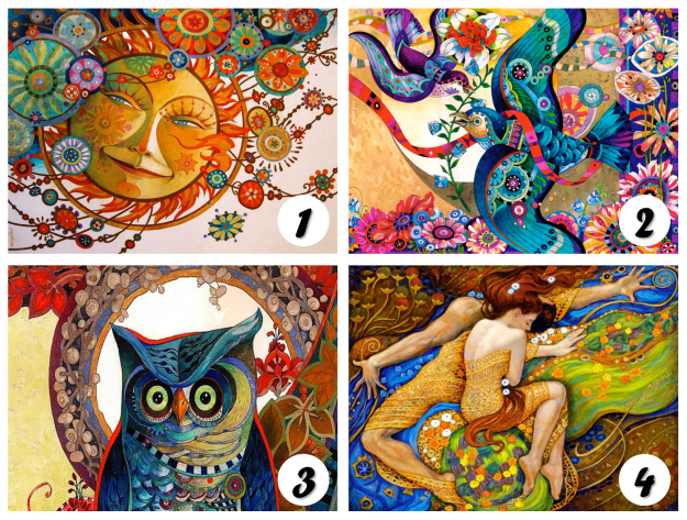vegyes színes lapok - Válassz egyet a szép képek közül, és nézd meg mit árul el rólad! Ugye igazat mondott?