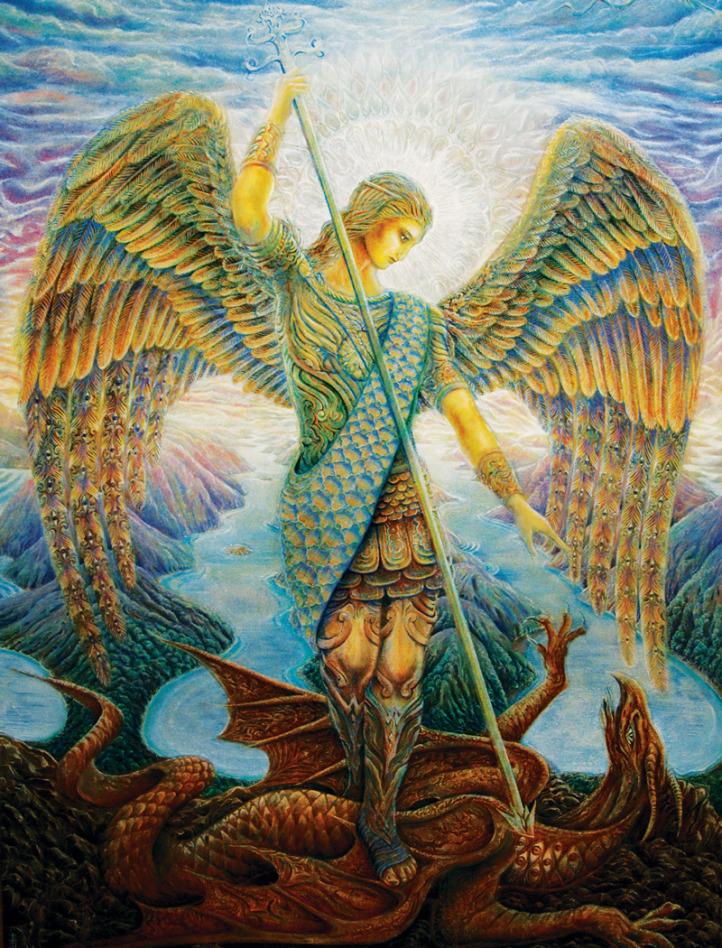 bátorságot2 - Mihály Arkangyal üzenete számodra: Veled vagyok, és bátorságot öntök beléd, hogy életedet olyan irányban változtasd, amely közelebb visz isteni küldetésedhez.