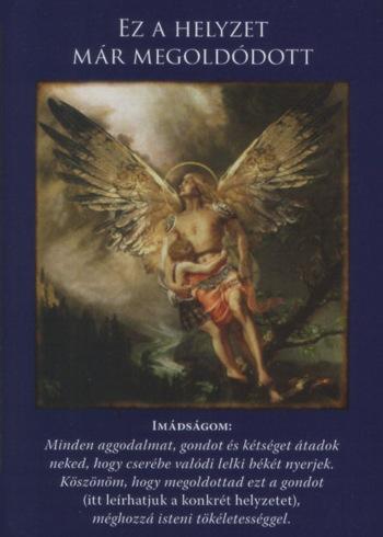 megoldódott - Angyali üzeneted vasárnapra: A HELYZET MEGOLDÓDOTT - A színfalak mögött az angyalok serényen munkálkodtak, hogy megszüntessék az aggodalmaid forrását.