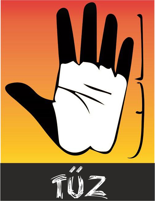 tűz - Kíváncsi vagy, mit árul el rólad a kezed? Most megtudhatod!
