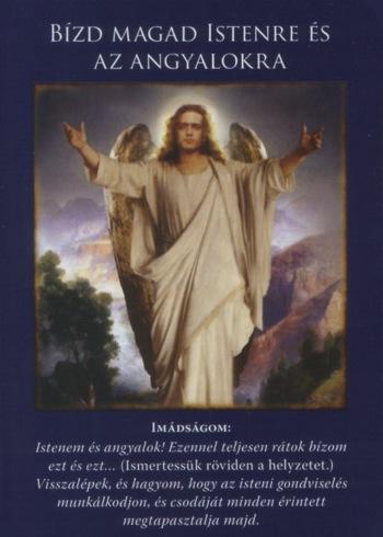 BÍZD MAGAD ISTENRE ÉS AZ ANGYALOKRA - Jézus üzenete a mai napra: BÍZD MAGAD ISTENRE ÉS AZ ANGYALOKRA!