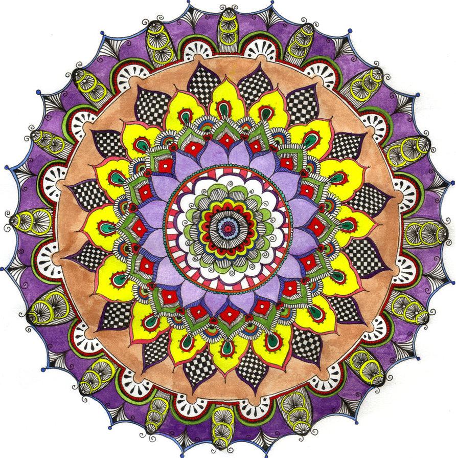 mandala3 - Ez a bőség mandalája. Ezzel a mandalával bevonzhatjuk azt, amire épp szükségünk van.