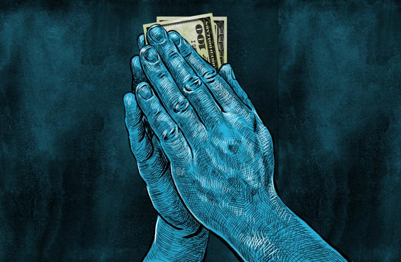 pénzedet - Ima az anyagi biztonságért