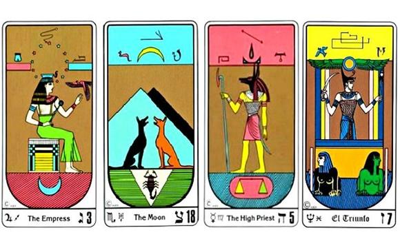 egyiptom - Válassz egy egyiptomi kártyát, hogy megismerhesd jövőbeli sorsodat és a szerencsédet!