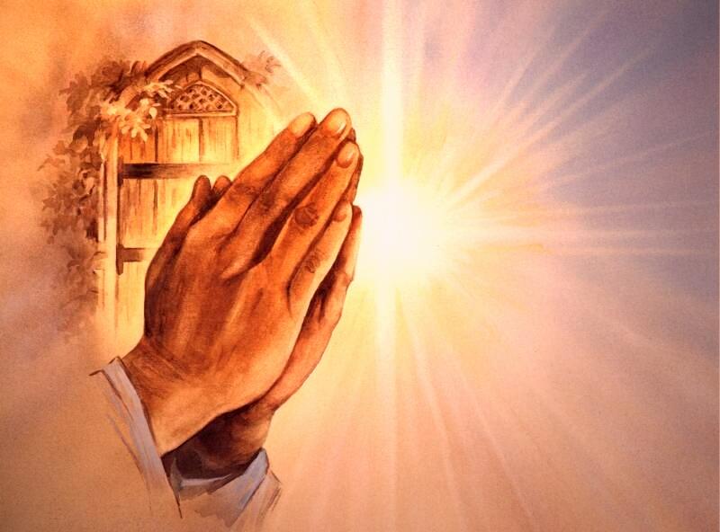 ima 1 - Az ima kéztartása