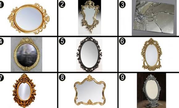 tükör - Válassz egy tükröt, és tudd meg, milyen a lelkivilágod!