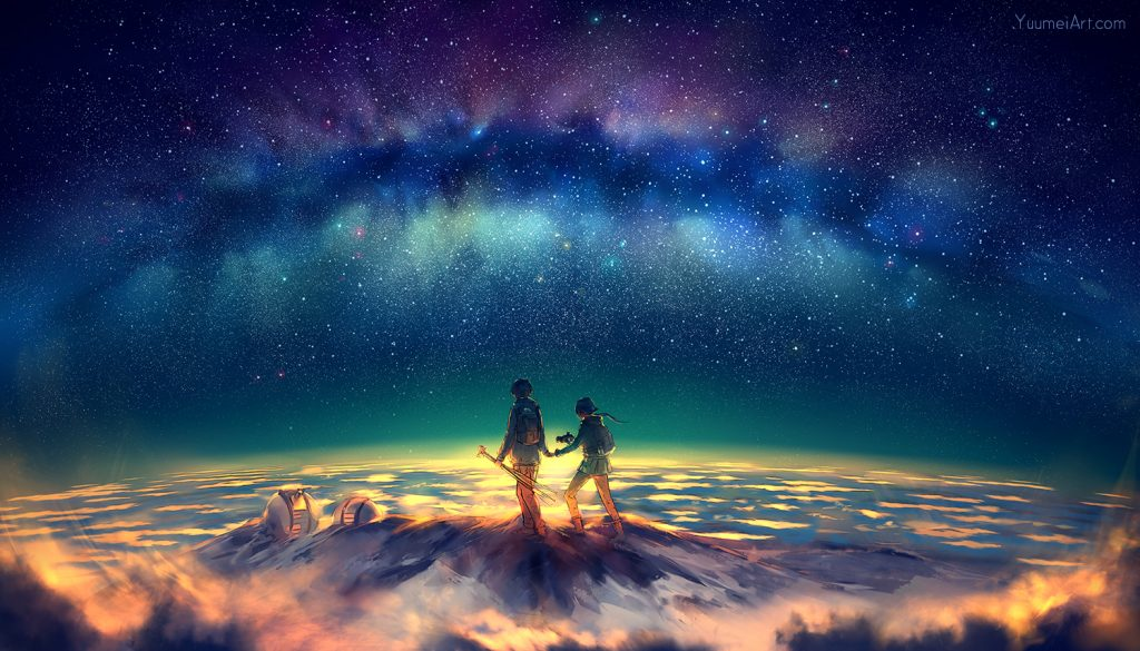 heaven 1024x585 - Angyali üzeneted szerda éjszakára: Mire vágysz? Most megvalósul, akár a mesékben!