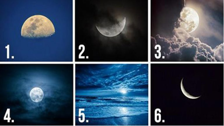 hold 6 - Válassz egy Holdat, igen meglepő dolgot fog elárulni rólad