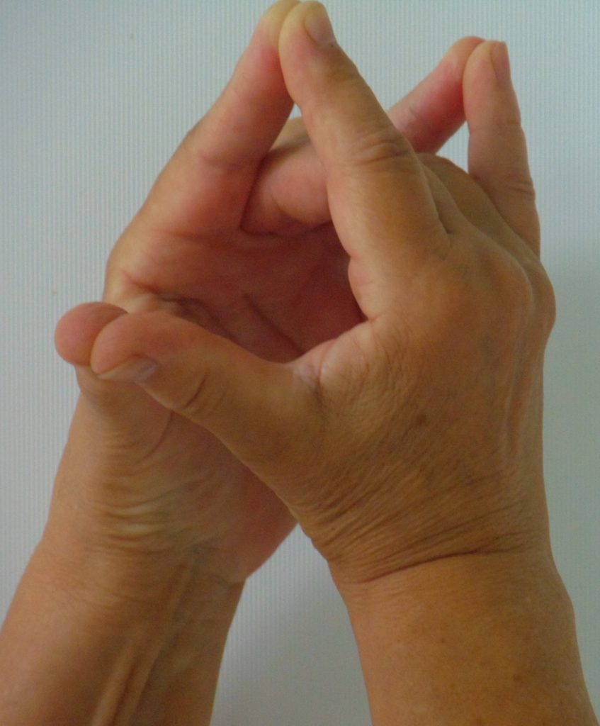 bhumi bandha JPG 847x1024 - Csodás gyógyító kéztartás: Improvizációs készség kéztartása