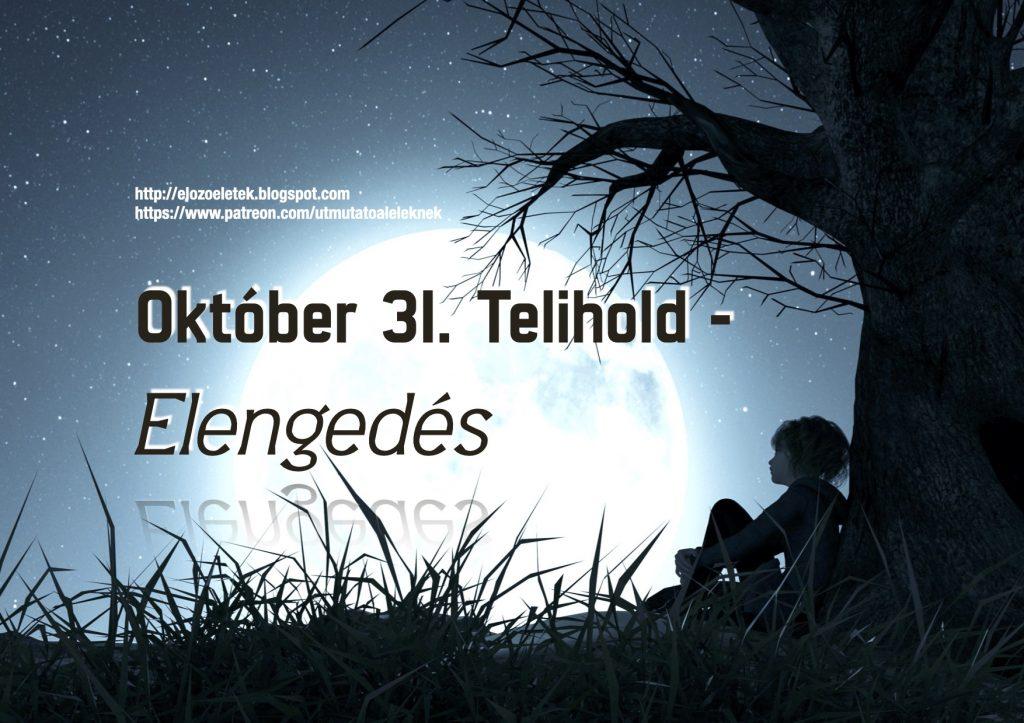 Elengedes 1024x723 - Október 31. Telihold - Elengedés