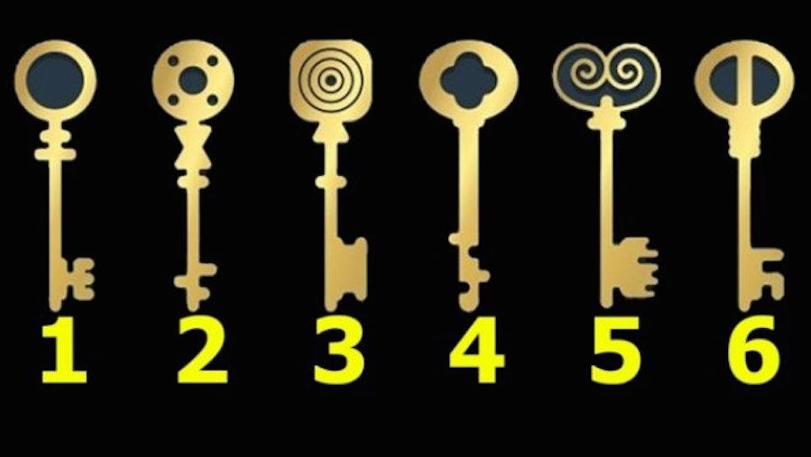 kulcsot - Válaszd ki a kulcsot, amivel kinyitnál egy titokzatos ládát, különleges dolgokat tudhatsz meg magadról!
